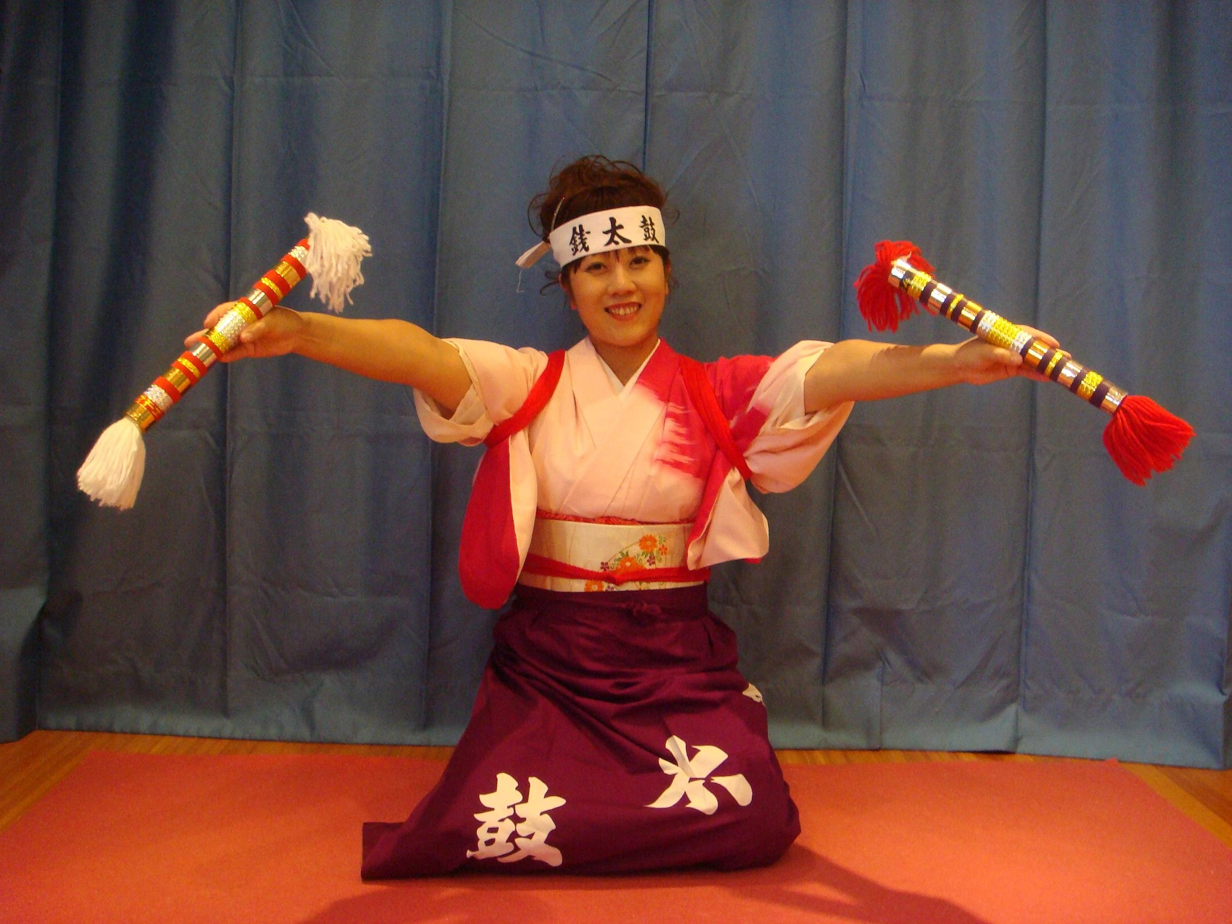 Traditional Taiko experience